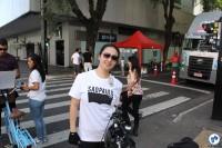 A paulistana Maísa Takata também concluiu o desafio e levou a camiseta. Foto: Flavio Bonanome