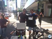 David Santos também concluiu o desafio e levou a camiseta Levi's. Parabéns, guerreiro! Foto: Ricardo Santos