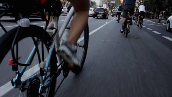 """Cena do documentário """"Ciclo Urbano"""". Foto: Reprodução"""
