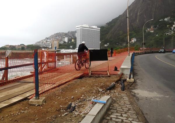 Ciclovia terá quase 4 km de extensão. Foto: Fabio Nazareth