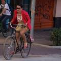 """A estudante de arquitetura Enne Maia: """"é fundamental que todas as ciclistas e minorias em geral participem porque até nos movimentos de bike encontramos atitudes esdrúxulas do patriarcado"""". Foto: Gil Sotero"""