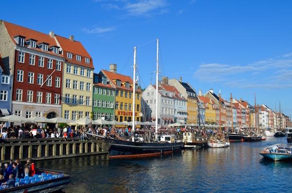 As cores da capital dinamarquesa. Foto: Raquel Jorge