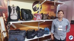 """Fernando Silva, da Northpak: """"o que está incentivando as vendas são as ciclovias"""". Foto: Willian Cruz"""