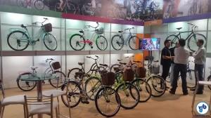 Estande da Gama Bikes: 100% bicicletas urbanas, com especial atenção à ergonomia e ao design. Foto: Willian Cruz
