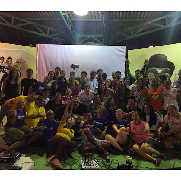 Organizadores do fórum em foto oficial. Foto: Fábio Costa