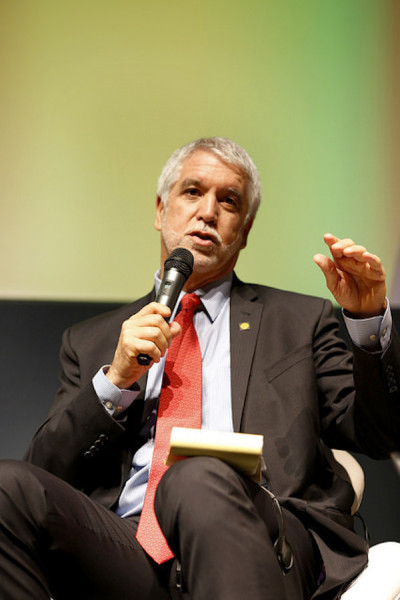 Enrique Peñalosa, ex-prefeito de Bogotá, capital colombiana. Foto: Mariana Gil/WRI Brasil Cidades Sustentáveis
