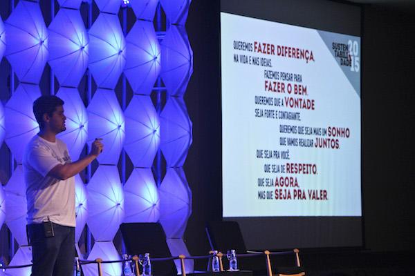 Terceira edição do Sustainable Brands. Foto: Aline Souza