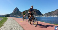 ciclista2 rio de janeiro pao de acucar fb h - Foto Willian Cruz