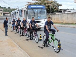 Motoristas de Vitória recebem treinamento. Foto: Divulgação SEST SENAT