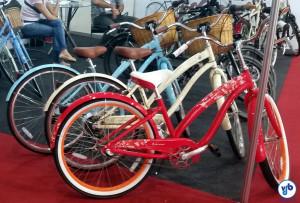 Bicicletas da Nirve, no stand da CicloArte. Foto: Willian Cruz