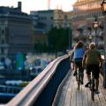 """Quem pedala e não polui será """"beneficiado"""" por quem causa danos ao meio ambiente. Foto: Henrik Trygg/Stockholm Visitors Board"""