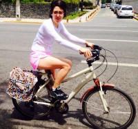 A gestora governamental Eduarda Lippo, é funcionária pública estadual e aprovou a medida. Foto: Arquivo pessoal