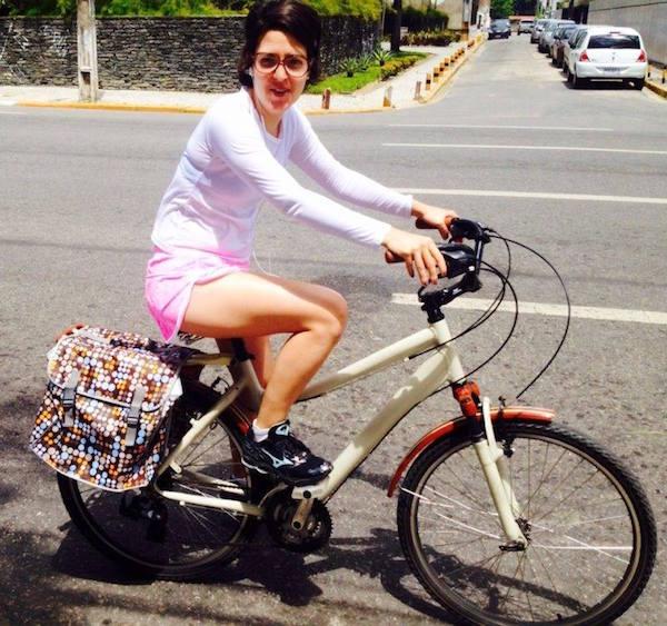 A gestora governamental Eduarda Lippo, é funcionária pública estadual e aprovou a medida. Foto: Rosália Vasconcelos