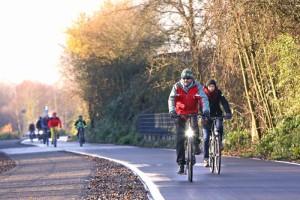 A RS1 tem áreas separadas para circulação de pedestres e de ciclistas - Foto: RVR/Schulte