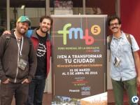 Equipe do Aromeiazero no FMB. Foto: Fabio Nazareth