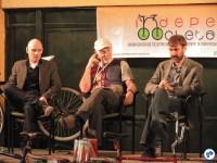 O ativista Chris Carlsson, um dos fundadores da Critical Mass (ao centro). Foto: Fabio Nazareth