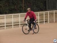 Bike Polo esteve presente no evento. Foto: Fabio Nazareth