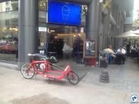 Cargueira em frentre a comércio em Santiago. Foto: Fabio Nazareth