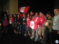 Delegação de Lima (Peru). Foto: Fabio Nazareth