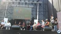 Brasileiros durante evento em Maipú. Foto: Fabio Nazareth