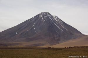 Vulcão Licancabur. Foto: Pedro Sibahi