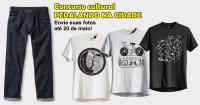 Participe e concorra a essa calça e a uma dessas camisetas, todas peças projetadas para ciclistas urbanos.