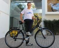 O criador do projeto Vá de Bike estará presente ao longo de todo o evento. Foto: Daniele Paixão/Shimano