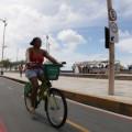 A avenida Beira Mar é considerada um dos principais cartões postais da cidade. Foto: Prefeitura de Fortaleza