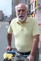 Jaime Ortiz vai compartilhar sua experiência como secretário de Obras Públicas de Bogotá e com a implantação das ciclovias na cidade colombiana, ainda na década de 1970. Foto: Divulgação