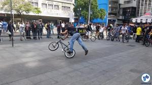 Etapa do Circuito Brasileiro de Flatland aconteceu em frente ao Teatro Municipal. Foto: Willian Cruz