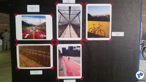 Fotografias selecionadas ficaram expostas na Praça das Artes. Foto: Willian Cruz