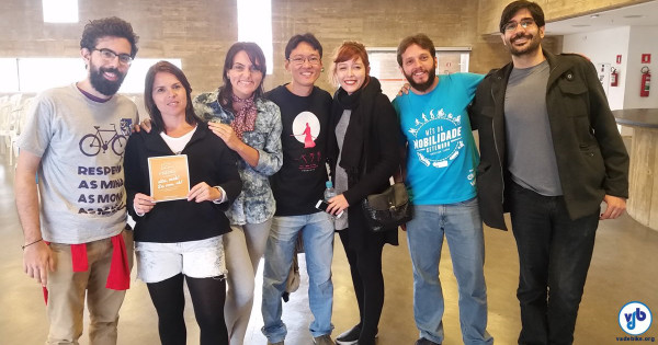 Nordestinos marcaram presença no Bicicultura. Foto: Willian Cruz