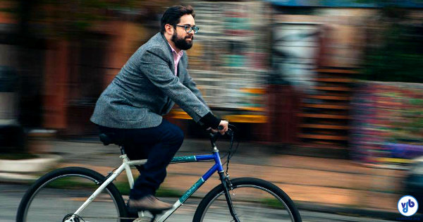 O advogado Fernando Torres esclarecerá dúvidas e situações relacionadas ao uso da bicicleta, aqui no Vá de Bike. Foto: Gui Gomes
