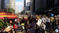 Festa junina aniversario Ciclovia Paulista 072 - Foto Willian Cruz