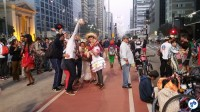 Festa junina aniversario Ciclovia Paulista 103 - Foto Willian Cruz