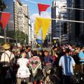 Festa junina aniversario Ciclovia Paulista fb h - Foto Willian Cruz