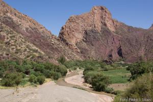 Vales nas proximidades de Tupiza. Foto: Pedro Sibahi