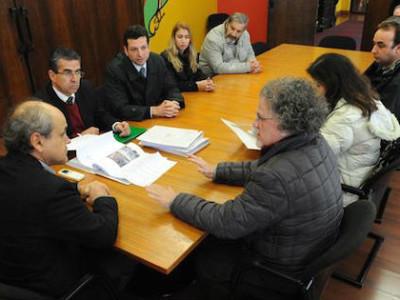 Reunião com o prefeito de Curitiba, Gustavo Fruet (PDT). Foto: Divulgação/Prefeitura de Curitiba