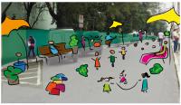 """Atividade faz parte do evento """"Rua para Todos"""", que acontece das 14 às 19h."""