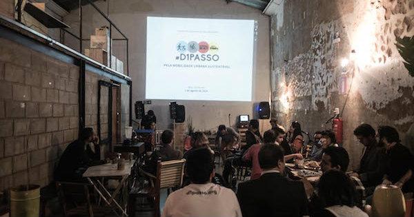 Lançamento da campanha #D1Passo em BH. Foto: Divulgação