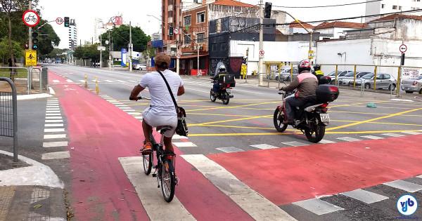 Aprovação de ciclovias subiu para 68% em 2016. Foto: Willian Cruz