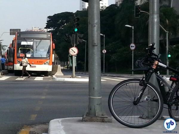 Ciclista receberá valor equivalente ao subsídio usado para o sistema de ônibus. Foto: Willian Cruz