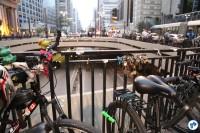 2016-10-28 Bicicletada Pedestrada #Vaiterciclovia Nenhum cm a menos Nenhum km-h a mais - 02 - Foto Fabio Miyata