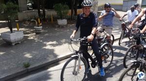 Em outubro, João Doria tentou tranquilizar os ciclistas quanto à retirada de ciclovias. Foto: Willian Cruz