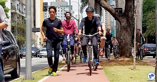 O próximo prefeito de São Paulo abriu diálogo com representantes da mobilidade a pé e com bicicleta. Foto: Willian Cruz