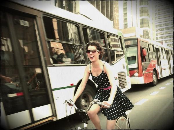 Lygia, parabéns! Adoramos sua foto! Você levou uma calça Commuter e um tool card, vamos entrar em contato!