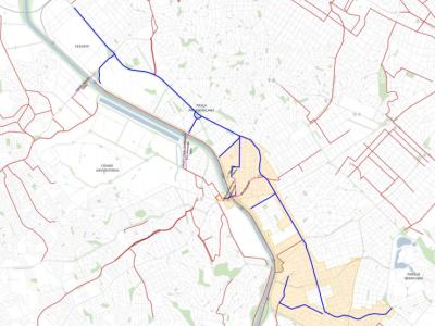 mapa intervencoes operacao urbana faria lima - imagem reproducao