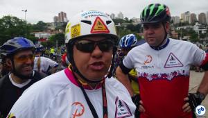 """Reinaldo, do Bikers Vila Guarani: """"o primeiro passo está dado"""". Foto: Willian Cruz"""
