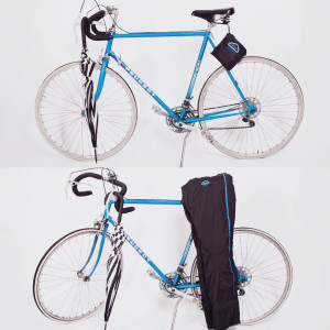 Calça pode ser dobrada como uma pequena bolsa, leve e compacta. Foto: Divulgação
