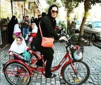 mulher iraniana ciclista pedalando 5 - IranianWomenLoveCycling